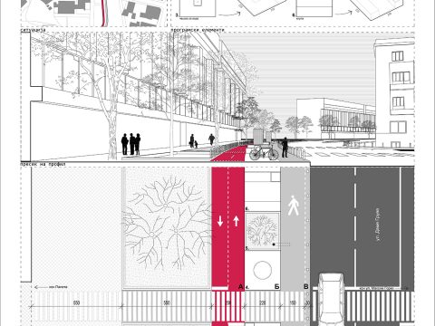 DAME GRUEV- pedestrian zone